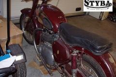 BSA A 7 1954r 500cc